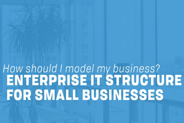 Enterprise IT structure for small businesses
