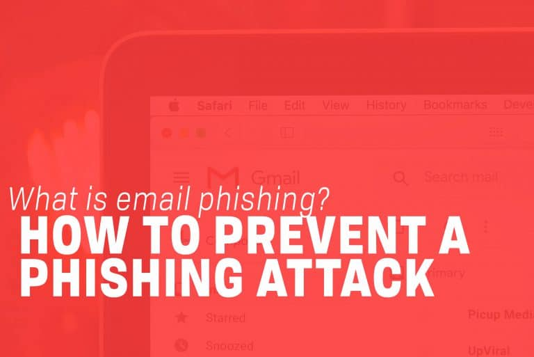 How to Prevent a Phishing Attack